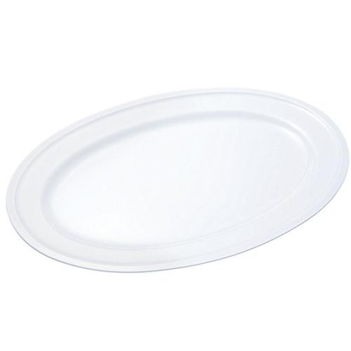 ☆ 食器 ☆ 給食用食器 小判皿 20吋 PW-11 [ 510 x 352 x H26mm ] 【 社食 学食 給食 病院 業務用 】