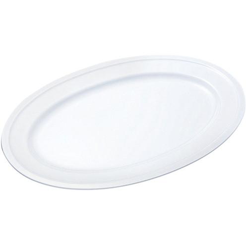☆ 食器 ☆ 給食用食器 小判皿 18吋 PW-10 [ 455 x 310 x H24mm ] 【 社食 学食 給食 病院 業務用 】