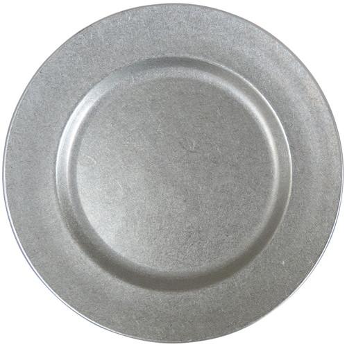 ☆ 食器 ☆ K THREE VINTAGE 18-8Queen Maru Q-12M 12吋 [ Φ302 x H15mm ] 【 飲食店 ホテル レストラン カフェ 業務用 】