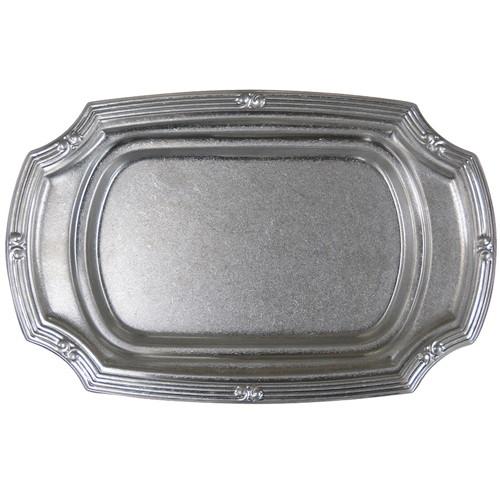 ☆ 食器 ☆ K THREE VINTAGE 18-8Queen Dish Q-12D 12吋 [ 304 x 196 x H18mm ] 【 飲食店 ホテル レストラン カフェ 業務用 】