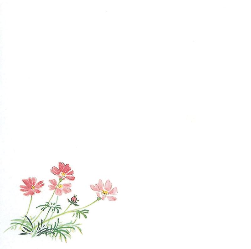 ☆ キッチン消耗品 ☆ 耐油懐敷 15角 1000枚入 C33-002 秋桜 [ 150 x 150mm ] 【 飲食店 和食 料亭 旅館 天ぷら 業務用 】