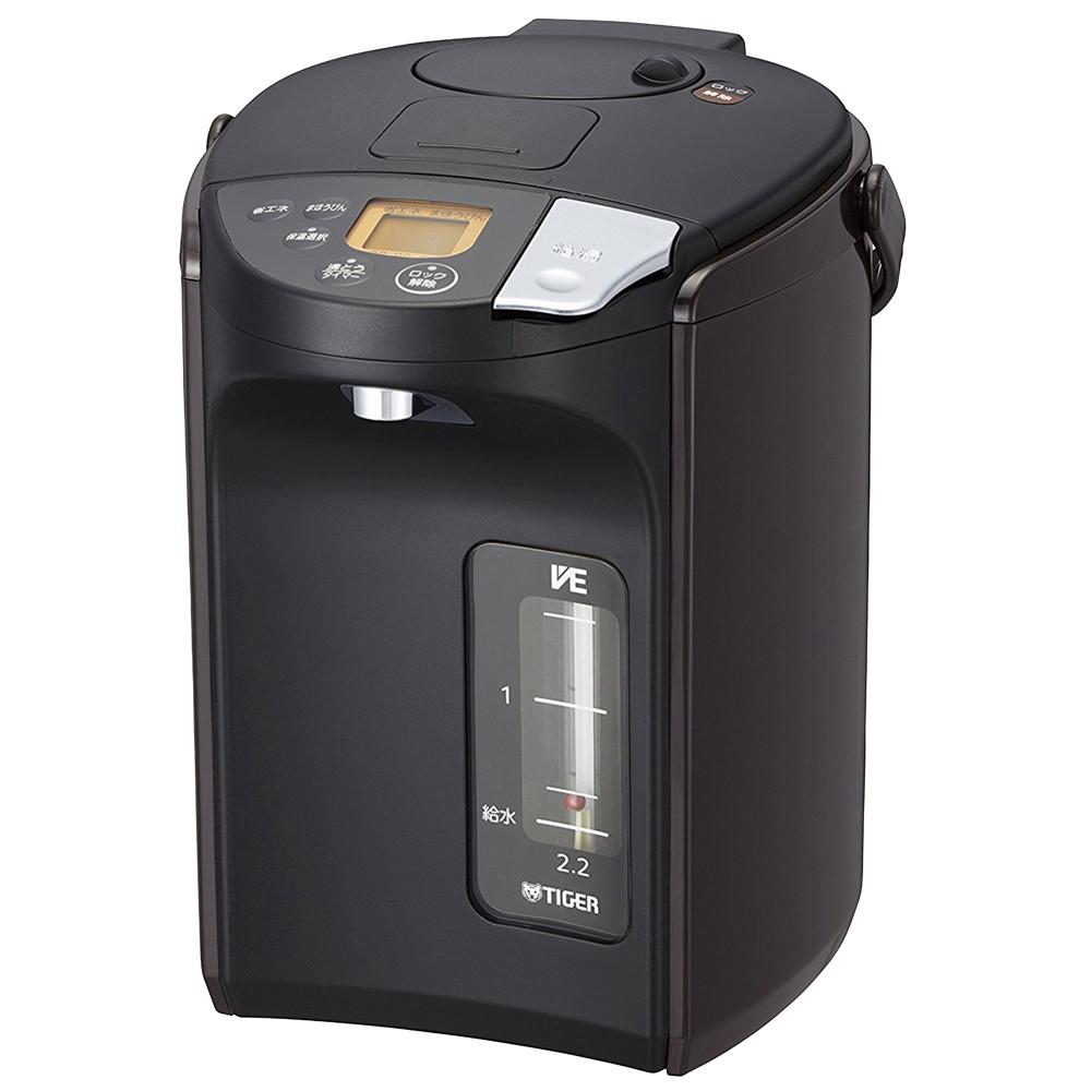 タイガー 蒸気レスVE電気ポット とく子さん PIS-A220 (2.2L) [ 217 x 282 x H283mm ] 【 フロアサービス用品 】 |飲食店 コンビニ 厨房 業務用 自宅用