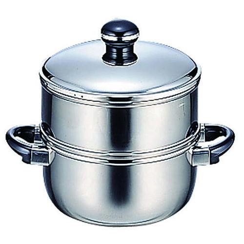 ☆ 料理道具 ☆ オブジェ OJ-6-1S 蒸し器 20cm [ φ200 x 174mm ] 【飲食店 レストラン ホテル 厨房 業務用 】