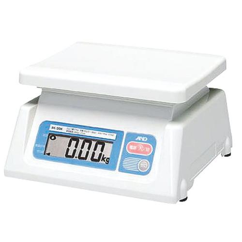 ☆ 計測 ☆A&D デジタル秤 SL-30K 30kg(最小20g) [ 244 x 232 x H137mm ] 【 飲食店 レストラン ホテル 厨房 業務用 】