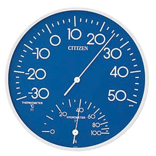 ☆ 計測 ☆温湿度計 TM-108 [ Φ300mm ] 【 飲食店 レストラン ホテル 厨房 業務用 】