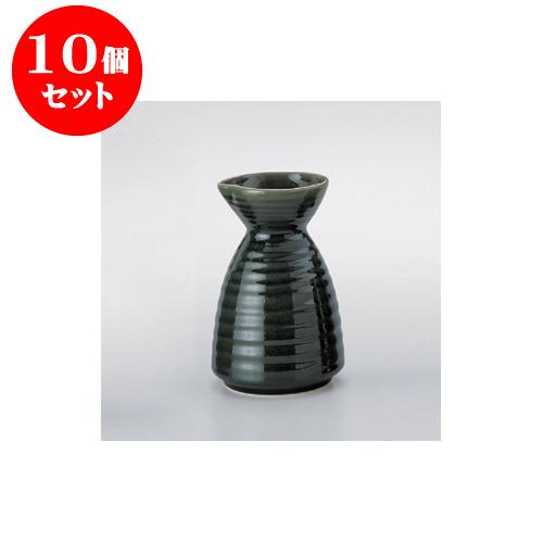 10個セット 鍋用品 オリベ 徳利形だし入(中) [10.5 x 16.5cm 740cc] 【旅館 料亭 飲食店 和食 業務用】