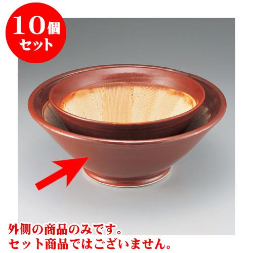 10個セット すり鉢 瀬戸本業焼18.0スリ鉢 [56 x 22cm] 【料亭 カフェ 和食器 飲食店 業務用】