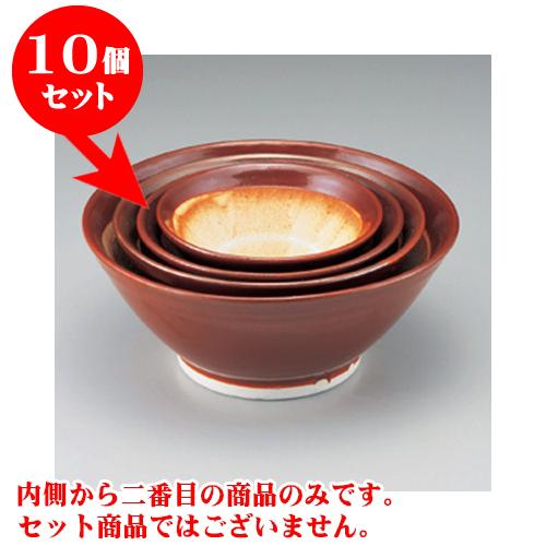 10個セット すり鉢 瀬戸本業焼8.0スリ鉢 [26 x 11cm] 【料亭 カフェ 和食器 飲食店 業務用】