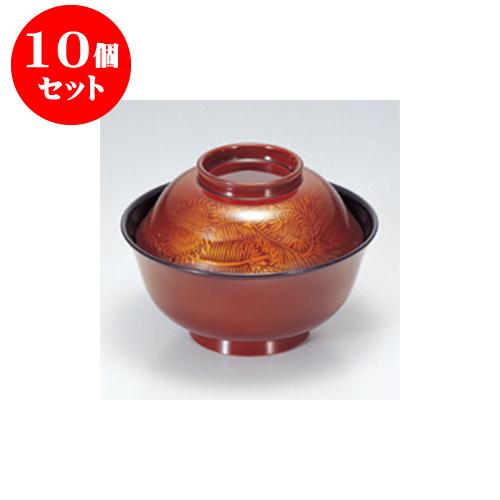 10個セット 小吸碗 [TM]4寸羽反吸椀 白壇唐草 [11.9 x 8.5cm] 【料亭 旅館 和食器 飲食店 業務用】