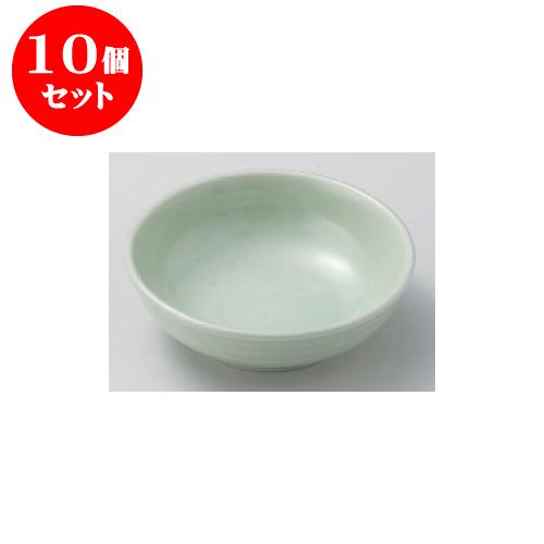 10個セット 松花堂 ヒワ色丸鉢 [11 x 3.5cm] 【和食器 料亭 旅館 飲食店 業務用】
