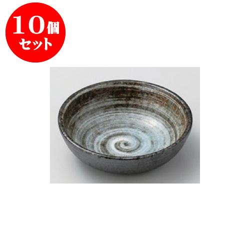 10個セット 松花堂 白刷毛3.8丸鉢 [11.4 x 3.3cm] 【料亭 旅館 和食器 飲食店 業務用】