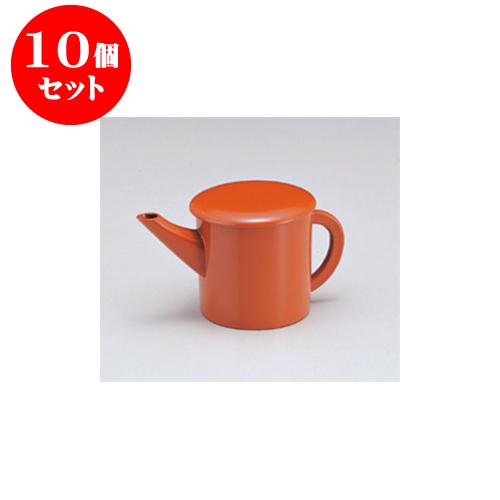 10個セット そば用品 [A](小)ゆとう朱(300) [9 x 9.5cm] 【料亭 旅館 和食器 飲食店 業務用】