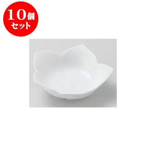 10個セット 松花堂 桔梗 白浅鉢大 [11 x 3.4cm] 【料亭 旅館 和食器 飲食店 業務用】