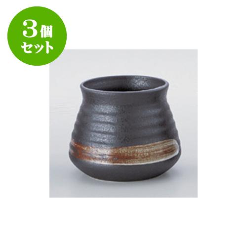 3個セット 鍋用品 鉄結晶がら入(大) [16 x 13cm] 【旅館 料亭 飲食店 和食 業務用】