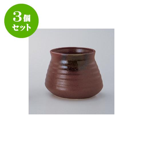 3個セット 鍋用品 伊賀灰釉 がら入(大) [16 x 13cm] 【旅館 料亭 飲食店 和食 業務用】