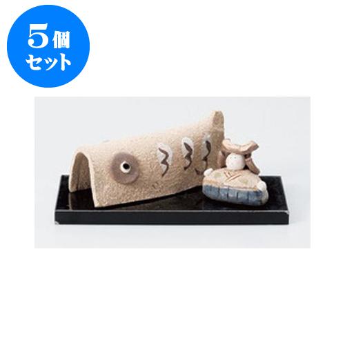 5個セット 縁起の福飾り 桃の立ち木雛 [11.2cm] 【インテリア 縁起物】