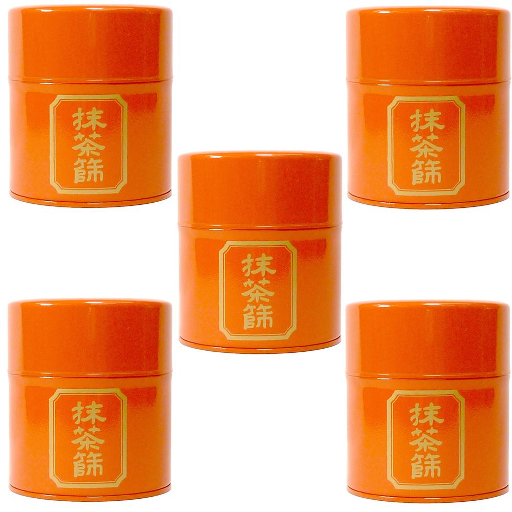 5個セット 茶道具 抹茶ふるい並朱 [8 x 9.5cm] 【料亭 旅館 和食器 飲食店 業務用】