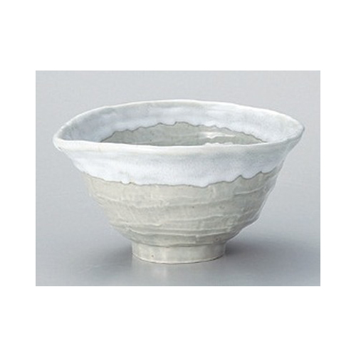 10 设置重碗在猿子白色 5.5 单-水槽 [18 x 16.5 x 9.5 厘米] 蓼订旅馆日本仪器食品商店商业