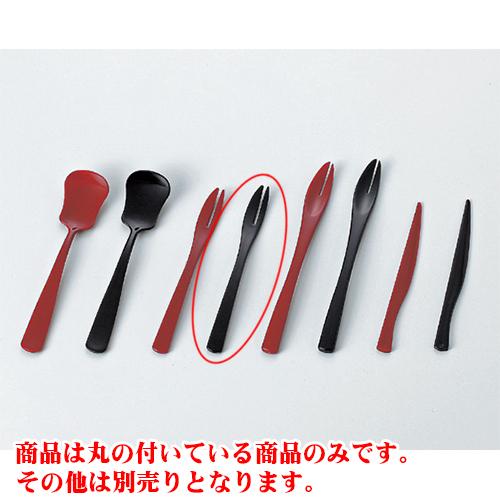 3 개 세트 숟가락/메 중 검정 포크 (소) [13.1 x 1.3 x 0.6 cm] AC 요정 여관 일식 그릇 식당 업무용