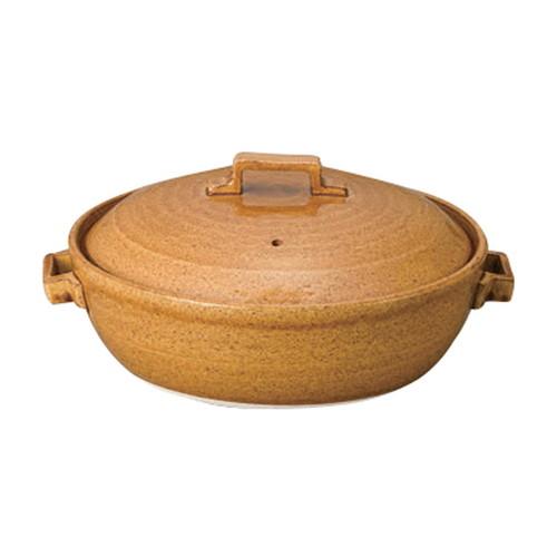 アメ9号キャセロール [ 28.5cm 3000cc ] 【 萬古焼鍋 】 | 和食器 飲食店 業務用 自宅用