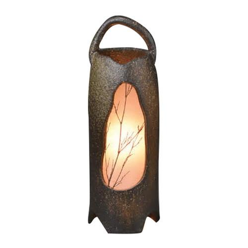 信楽焼草の穂室内用照明 [ 16 x 44cm ] 【 信楽焼照明 】 | インテリア 照明 屋内 自宅用
