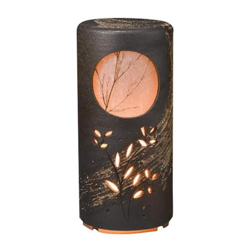 信楽焼初月燈 [ 24.5 x 52.5cm ] 【 信楽焼照明 】 | インテリア 照明 屋内 自宅用