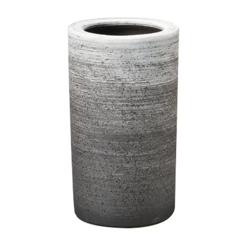 信楽焼刷毛目傘立 [ 25 x 45cm ] 【 信楽焼傘立て 】   インテリア 玄関 梅雨 自宅用