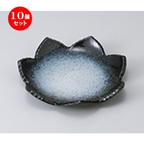 10個セット ☆ 前菜皿 ☆雲海葉型6.0皿 [ 18.2 x 3.2cm ] 【 料亭 旅館 和食器 飲食店 業務用 】
