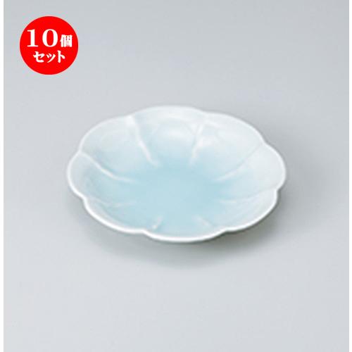 10個セット ☆ 和皿 ☆ 青白花型5.0皿 [ 16 x 3.5cm ] 【 料亭 旅館 和食器 飲食店 業務用 】