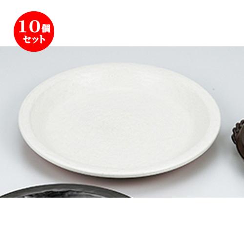 10個セット ☆ 陶板 ☆ シロ耐熱パンプレート [ 28.2 x 4cm ] 【 料亭 旅館 和食器 飲食店 業務用 】