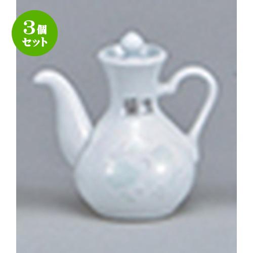 3個セット☆ 中華オープン ☆ 夢彩華(強化) カスター醤油 [ 6 x 9.3cm ・75cc ] 【 中華 ラーメン ホテル 飲食店 業務用 】