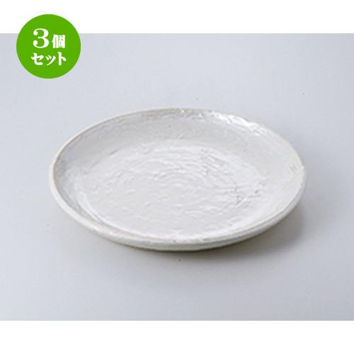 3個セット☆ 盛込皿 ☆ 真珠9.0丸皿 [ 27.2 x 3cm ] 【 料亭 旅館 和食器 飲食店 業務用 】