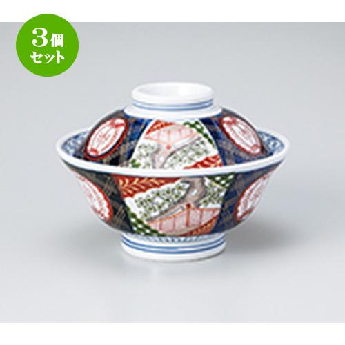 3個セット☆ 蓋丼 ☆ 錦小桜6.0蓋丼 [ 18.2 x 11.8cm ] 【 料亭 旅館 定食屋 和食器 飲食店 業務用 】