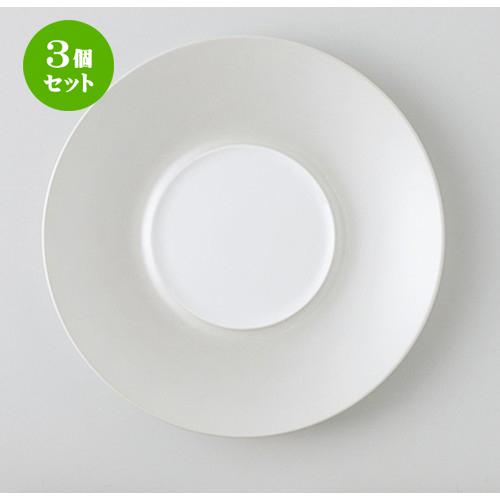 3個セット☆ モダンスタイル ☆ RR27cmプレート(SV) [ 27.0 x 3.2cm ・ 内径12.5cm ] 【 レストラン ホテル カフェ 洋食器 飲食店 業務用 】