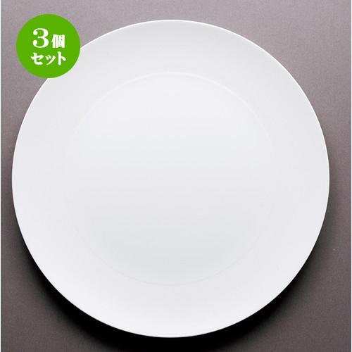 3個セット☆ モダンスタイル ☆ ラネイジュ 28cmプレート [ 18.3 x 1.4cm ・ 内径11.8cm ] 【 レストラン ホテル カフェ 洋食器 飲食店 業務用 】