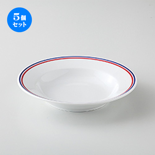 5個セット☆ 洋陶オープン ☆ フランス (イングレーズ加工) TA82スープ [ 20.5 x 3.7cm ] 【 レストラン ホテル 洋食器 飲食店 業務用 】