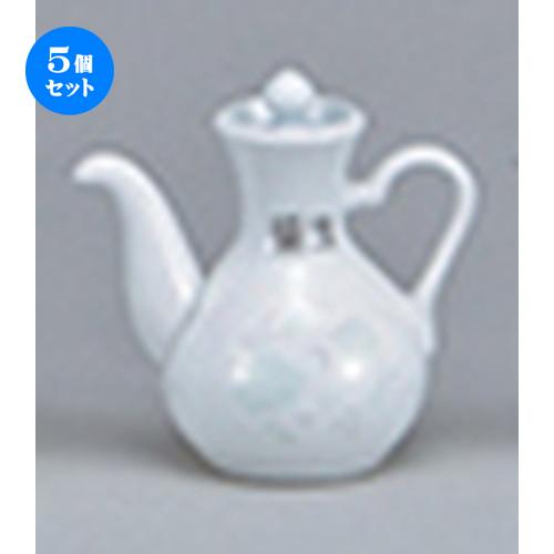 5個セット☆ 中華オープン ☆ 夢彩華(強化) カスター醤油 [ 6 x 9.3cm ・75cc ] 【 中華 ラーメン ホテル 飲食店 業務用 】