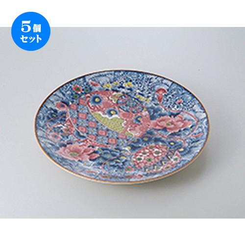 5個セット☆ 萬古焼盛込皿 ☆ てまり 13.0大皿 [ 42 x 42 x 5.5cm ] 【 料亭 旅館 和食器 飲食店 業務用 】
