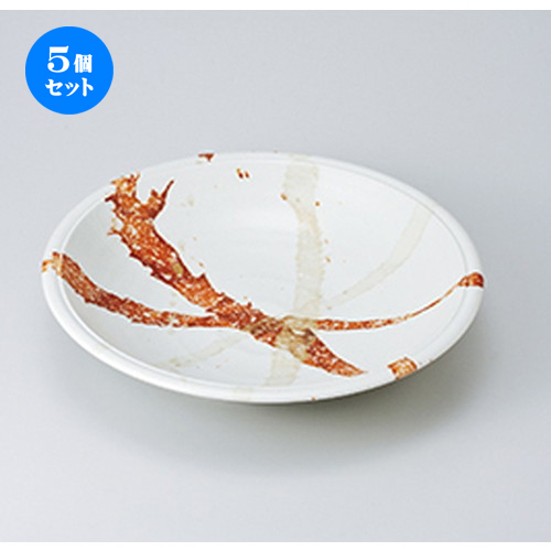 5個セット☆ 盛込鉢 ☆ 白東雲9.5寸盛皿 [ 29 x 6.1cm ] 【 料亭 旅館 和食器 飲食店 業務用 】