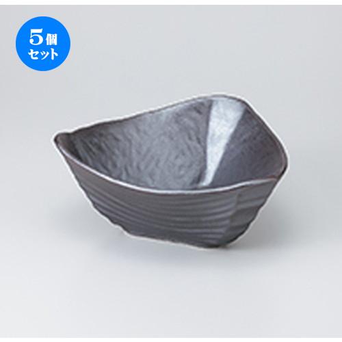 5個セット ☆ 多用鉢 ☆ Ginsai三角盛鉢 [ 23 x 9.7cm ] 【 料亭 旅館 和食器 飲食店 業務用 】