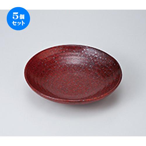 5個セット ☆ めん皿 ☆ 結晶マグナ8.0麺皿 [ 23.3 x 5.3cm ] 【 料亭 旅館 麺 和食器 飲食店 業務用 】