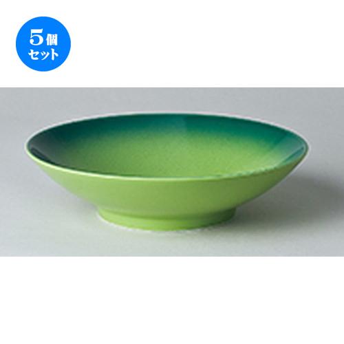 5個セット ☆ オーブン食器 ☆ コローレグリーンパスタボール [ 24.1 x 6.3cm ] 【 レストラン ホテル カフェ 洋食器 飲食店 業務用 】
