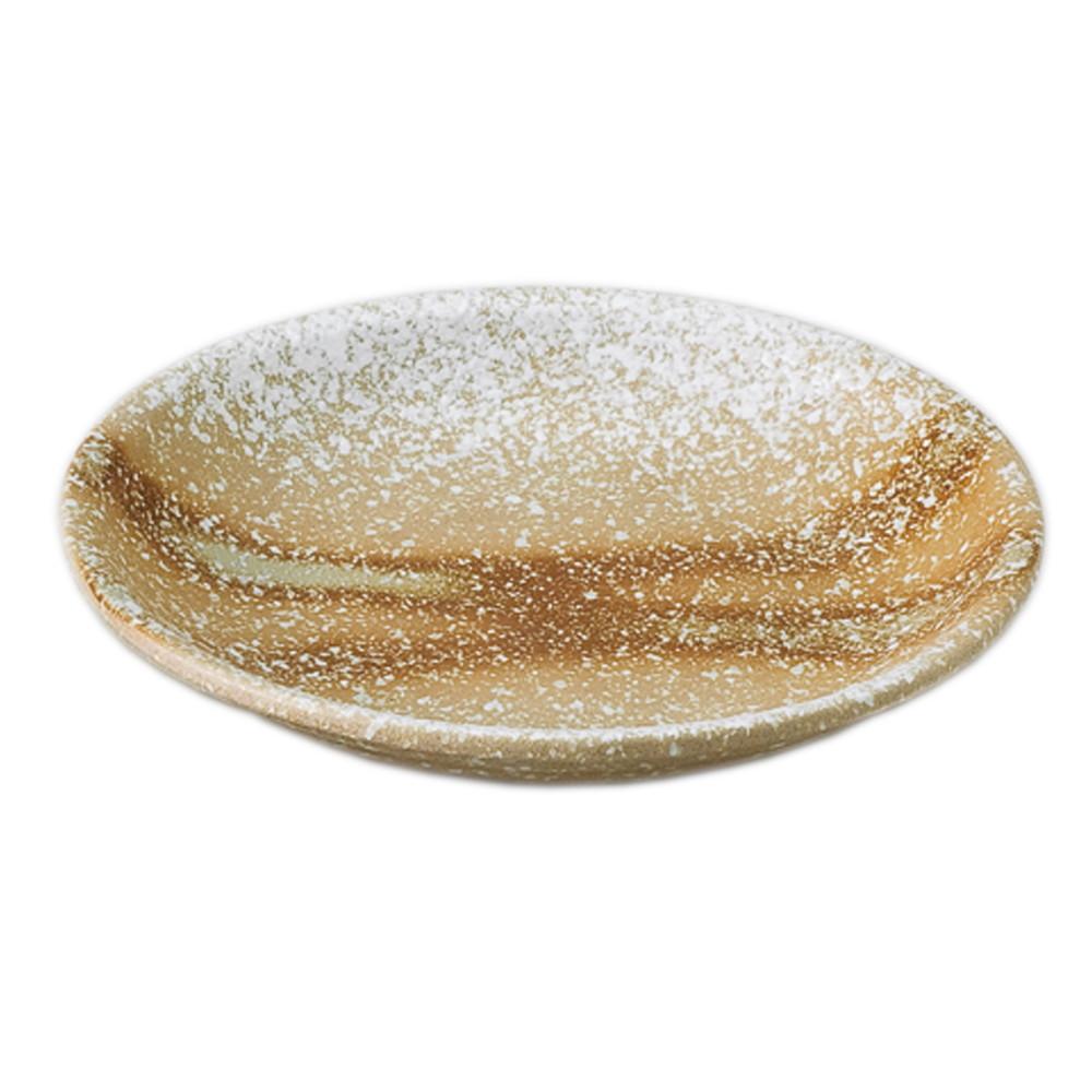 白伊賀風10.0丸皿 [ 28.4 x 4.3cm ] 【 盛込皿 】 | 料亭 旅館 和食器 飲食店 業務用