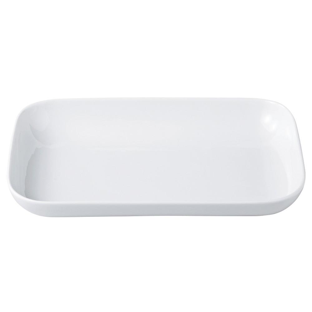 ブラン プレートL クリームホワイト [ 31.0 x 20.0 x H4.5cm ]   大皿 プレート パーティ 人気 おすすめ 食器 洋食器 業務用 飲食店 カフェ うつわ 器 おしゃれ かわいい ギフト プレゼント 引き出物 誕生日 贈り物 贈答品 自宅用 大きい:せともの本舗