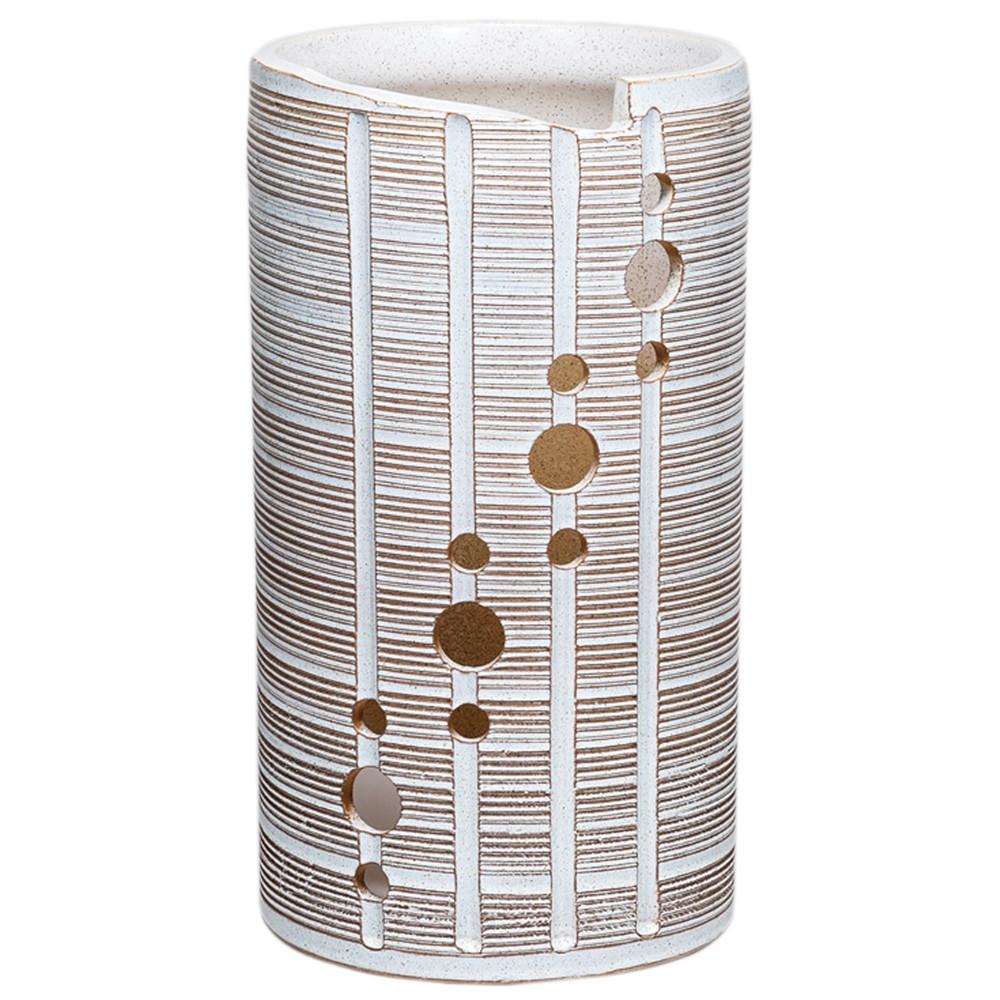 丸紋スカシ傘立 [ 23 x 41.5cm ] 【傘立 】 | インテリア 玄関 梅雨 レイングッズ 業務用
