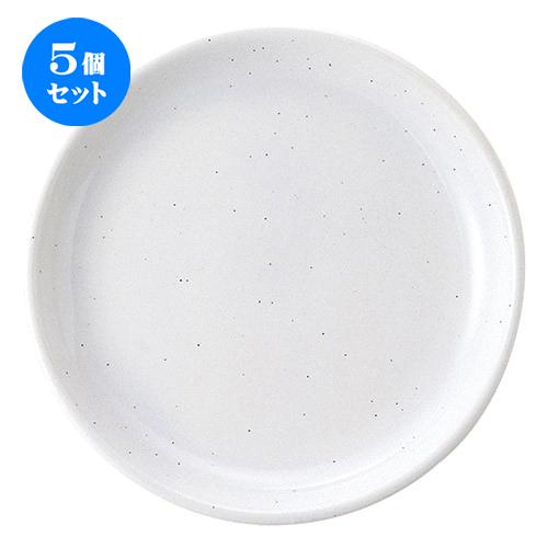 5個セット ☆ 大皿 ☆ ギャラクシー ミルク 28.5cm 大皿 [ D 28.8 x H 3.4cm ] 【 飲食店 レストラン ホテル カフェ 洋食器 業務用 白 ホワイト シンプル 】