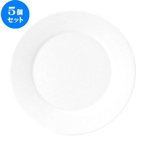 5個セット☆ 大皿 ☆ フォンテ 31cm 丸皿 [ D 31 x H 3cm ] 【 飲食店 レストラン ホテル カフェ 洋食器 業務用 おしゃれ 白 ホワイト シンプル 】