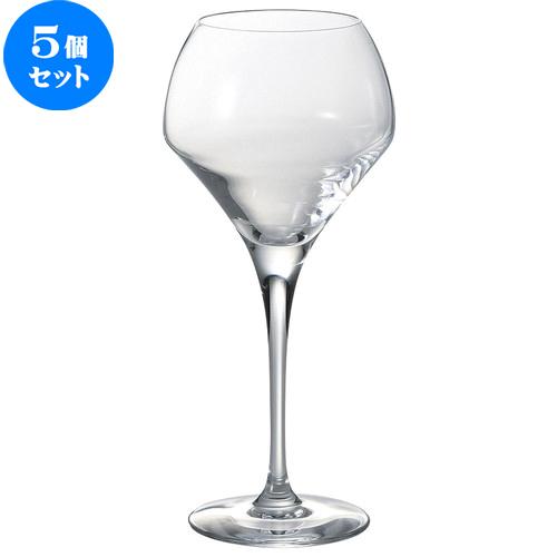 5個セット☆ ワイングラス ☆ Chef&Sommelier オープンナップ ラウンド 37 [ D 6.7 x w 9.5 x H 21.2cm ] 【 飲食店 レストラン ホテル カフェ バー 洋食器 業務用 】