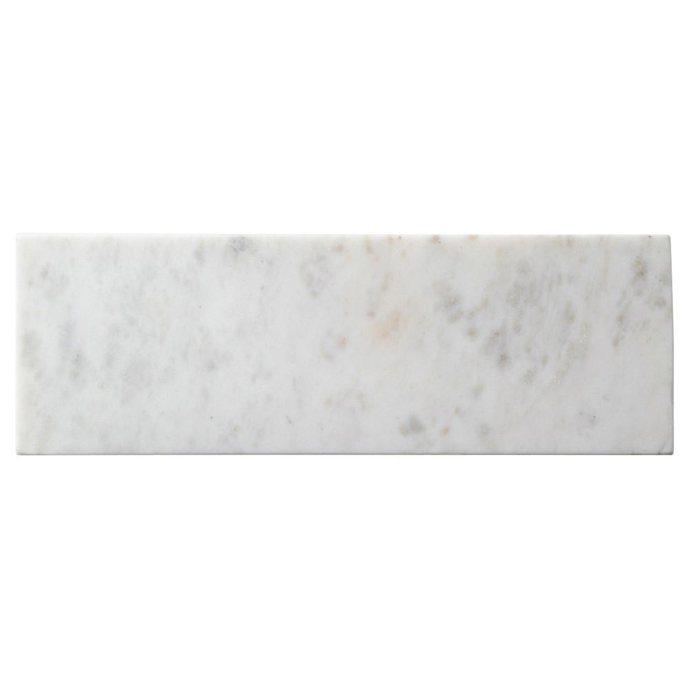 天然石 ホワイトマーブル 30cmナロープレート [ L30 x S10 x H1cm ] 【 長角皿 】 | 飲食店 ホテル レストラン 洋食 業務用