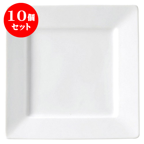 【SEAL限定商品】 10個セット ギフト テトラ 27cm正角皿 [D26.5 引き出物 X H2.7 ID16.2cm] | おしゃれ 大皿 プレート ビック パーティ 人気 おすすめ 食器 洋食器 業務用 飲食店 カフェ うつわ 器 おしゃれ かわいい ギフト プレゼント 引き出物 誕生日 贈り物 贈答品, 西頸城郡:a34a1d79 --- rudypaoluccidds.com